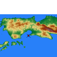 Nearby Forecast Locations - Amahai - Χάρτης