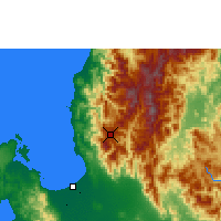 Nearby Forecast Locations - Baguio - Χάρτης