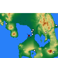 Nearby Forecast Locations - Sangley Point NAS - Χάρτης