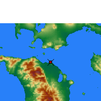 Nearby Forecast Locations - Calapan - Χάρτης