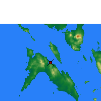 Nearby Forecast Locations - Masbate - Χάρτης