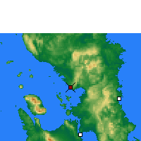 Nearby Forecast Locations - Catbalogan - Χάρτης