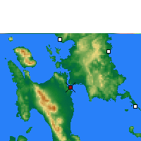 Nearby Forecast Locations - Τακλομπάν - Χάρτης