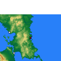 Nearby Forecast Locations - Borongan - Χάρτης