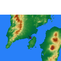 Nearby Forecast Locations - Iloilo - Χάρτης