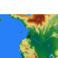 Nearby Forecast Locations - Cotabato - Χάρτης