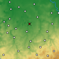 Nearby Forecast Locations - Borna - Χάρτης