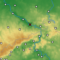 Nearby Forecast Locations - Pirna - Χάρτης