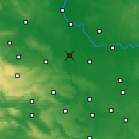Nearby Forecast Locations - Bernburg - Χάρτης