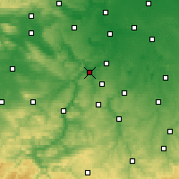 Nearby Forecast Locations - Naumburg - Χάρτης