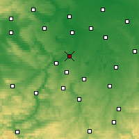 Nearby Forecast Locations - Weißenfels - Χάρτης
