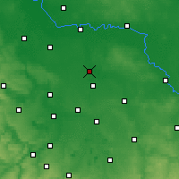 Nearby Forecast Locations - Bitterfeld - Χάρτης