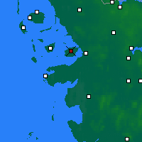 Nearby Forecast Locations - Nordstrand - Χάρτης