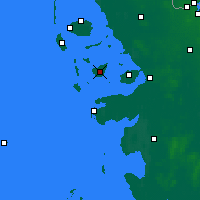 Nearby Forecast Locations - Pellworm - Χάρτης