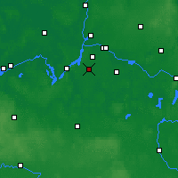 Nearby Forecast Locations - Teltow - Χάρτης