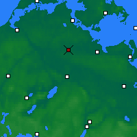 Nearby Forecast Locations - Grimmen - Χάρτης