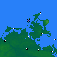 Nearby Forecast Locations - Hiddensee - Χάρτης