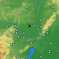 Nearby Forecast Locations - Gänserndorf - Χάρτης