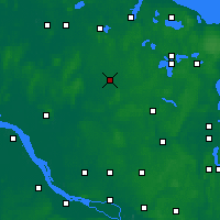Nearby Forecast Locations - Neumünster - Χάρτης