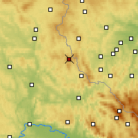 Nearby Forecast Locations - Schönsee - Χάρτης