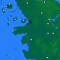 Nearby Forecast Locations - Husum - Χάρτης