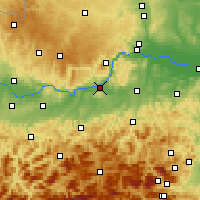 Nearby Forecast Locations - Melk - Χάρτης