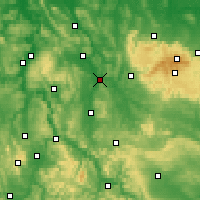 Nearby Forecast Locations - Northeim - Χάρτης