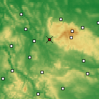 Nearby Forecast Locations - Osterode am Harz - Χάρτης