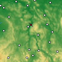 Nearby Forecast Locations - Holzminden - Χάρτης