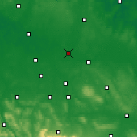 Nearby Forecast Locations - Gifhorn - Χάρτης