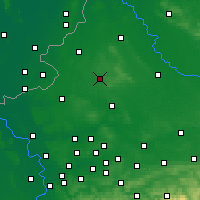 Nearby Forecast Locations - Coesfeld - Χάρτης