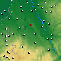 Nearby Forecast Locations - Bergheim - Χάρτης