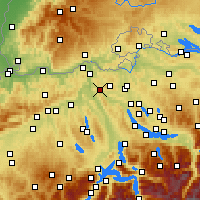 Nearby Forecast Locations - Baden - Χάρτης