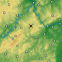 Nearby Forecast Locations - Simmern - Χάρτης