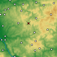 Nearby Forecast Locations - Olpe - Χάρτης