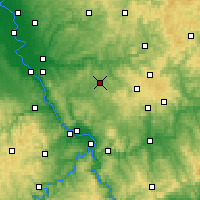 Nearby Forecast Locations - Altenkirchen - Χάρτης