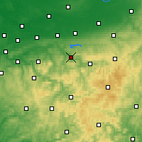 Nearby Forecast Locations - Arnsberg - Χάρτης
