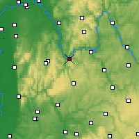 Nearby Forecast Locations - Miltenberg - Χάρτης