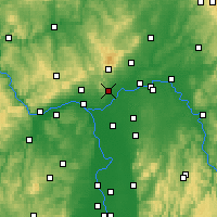 Nearby Forecast Locations - Hofheim - Χάρτης