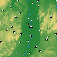 Nearby Forecast Locations - Frankenthal - Χάρτης