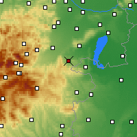 Nearby Forecast Locations - Mattersburg - Χάρτης