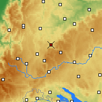 Nearby Forecast Locations - Balingen - Χάρτης