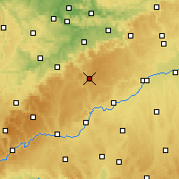 Nearby Forecast Locations - Münsingen - Χάρτης