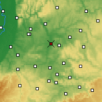 Nearby Forecast Locations - Χαϊλμπρόν - Χάρτης