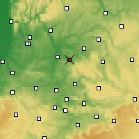 Nearby Forecast Locations - Obersulm - Χάρτης