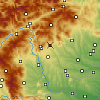 Nearby Forecast Locations - Weiz - Χάρτης