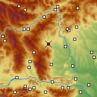 Nearby Forecast Locations - Voitsberg - Χάρτης