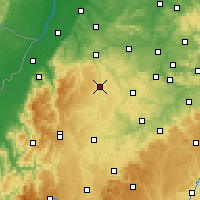 Nearby Forecast Locations - Calw - Χάρτης