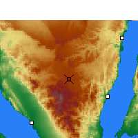 Nearby Forecast Locations - Saint Catherine - Χάρτης