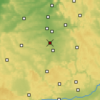 Nearby Forecast Locations - Schwabach - Χάρτης
